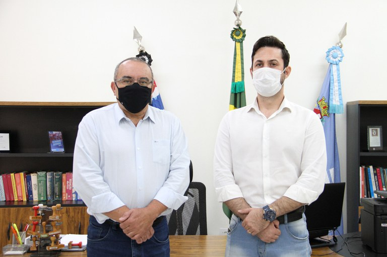 Ramão recebe visita do Presidente da Câmara Municipal de Paraguaçu Paulista