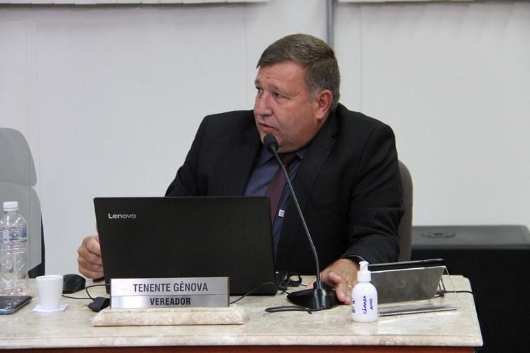 Tenente Genova encaminha ofício à SABESP pedindo informações sobre Crise Hídrica