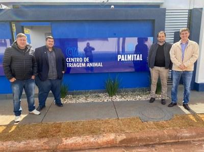 Vereadores vão conhecer o Centro de Triagem Animal de Palmital